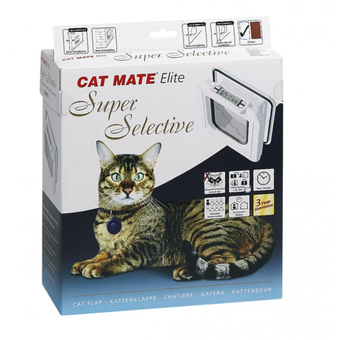 katzenklappe cat mate nr 305 elite super selective 99 90. Black Bedroom Furniture Sets. Home Design Ideas